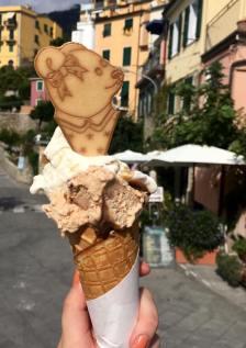 Gelato in Corniglia!